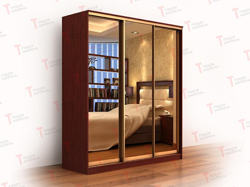 Трехстворчатый шкаф купе версаль 3-х+3з - такая мебель купит.