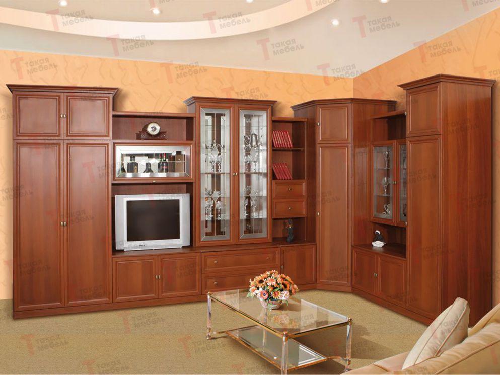 Угловые стенки в гостиную (42 фото): мини-стенка под телевиз.