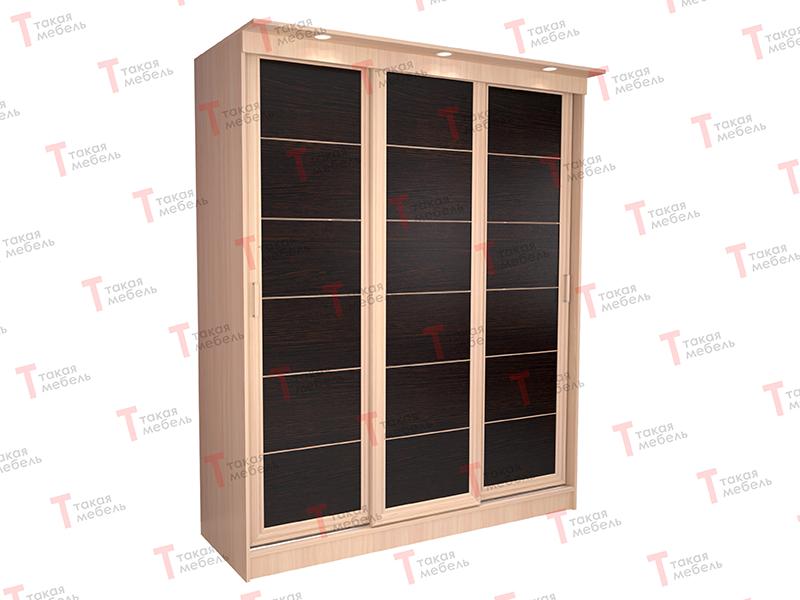 Трехстворчатый шкаф купе миллениум лайн 3х - такая мебель ку.