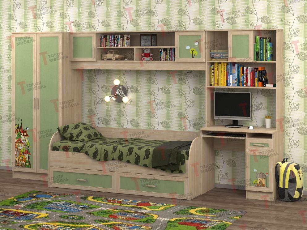 Купить мебель для детской белоснежка-1 от производителя фабр.