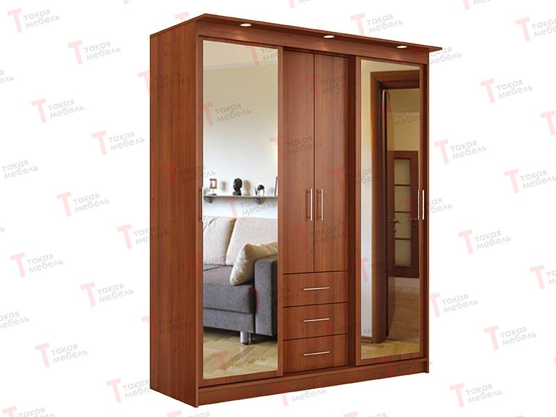 Трехстворчатый шкаф купе миллениум-5-2 - такая мебель купить.