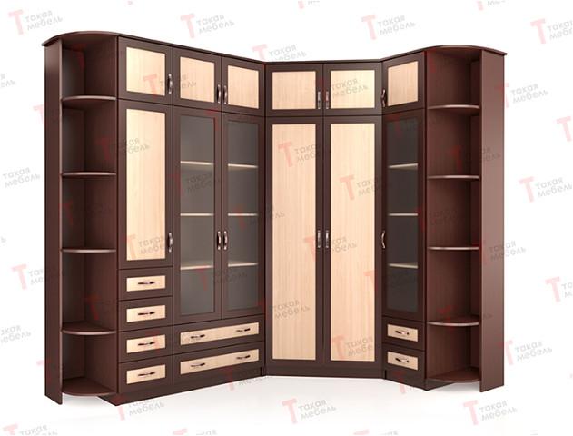 Угловой шкаф версаль нкм-3 - такая мебель купить мебель из д.